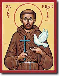 St. Francis Prayer is used in 12 step programs as the 11th Step Prayer